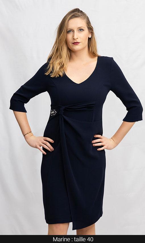 robe courte chic femme paris