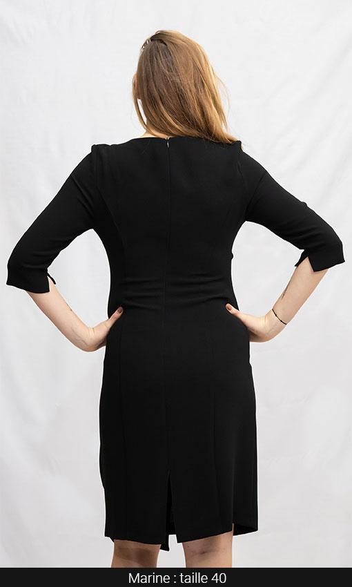 robe classe noir femme paris